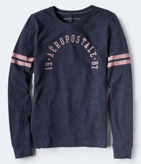 Long Sleeve Aeropostale Graphic Tee***