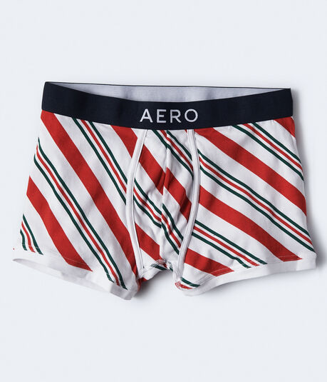 Candy Cane Stripe Knit Trunks***