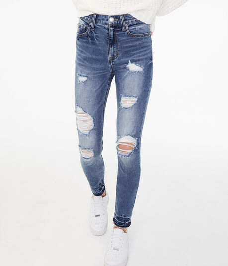 Real Denim High-Rise Cheeky Ankle Jegging