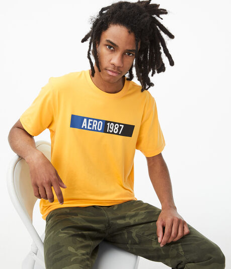 Aero 1987 Stretch Graphic Tee