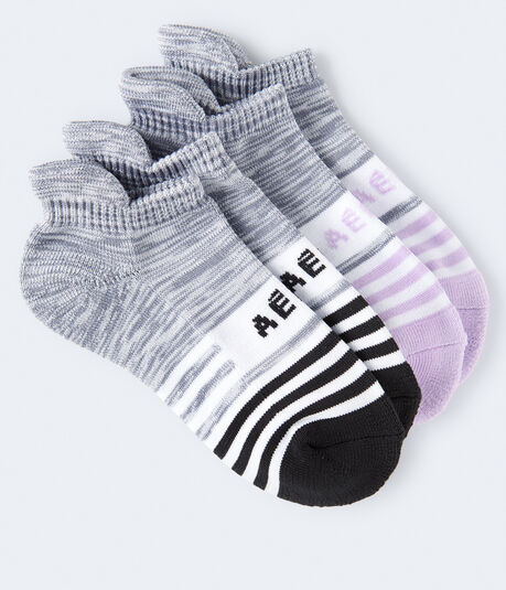 Space-Dye Active Ankle Sock 2-Pack
