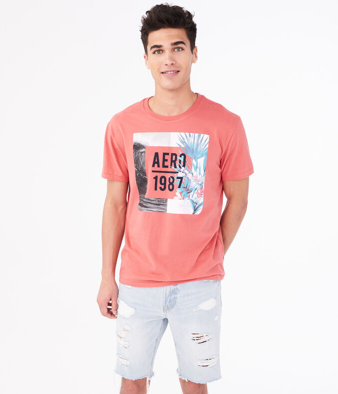 Aero 1987 Wave Graphic Tee