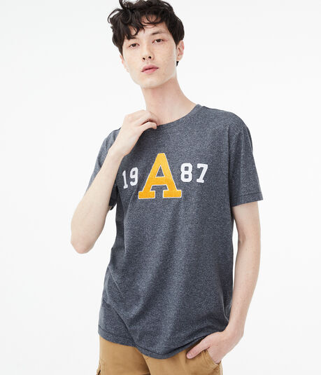"""Large """"A"""" 1987 Graphic Tee"""