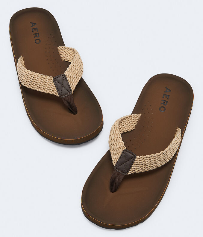 Woven Rope Strap Flip-Flop