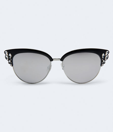 Glitzy Mirrored Clubmax Sunglasses