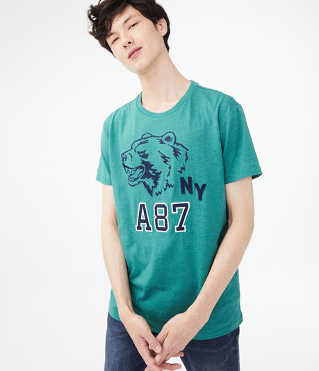 A87 Bear Graphic Tee