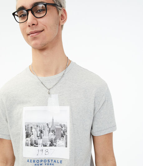 NYC 1987 Photo Graphic Tee