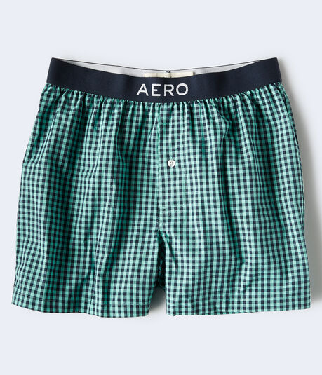 Gingham Woven Boxers