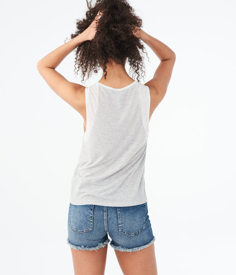LLD Colorblocked Muscle Tank***