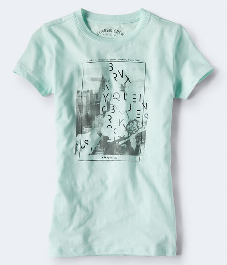 Distorted Sky Graphic Tee