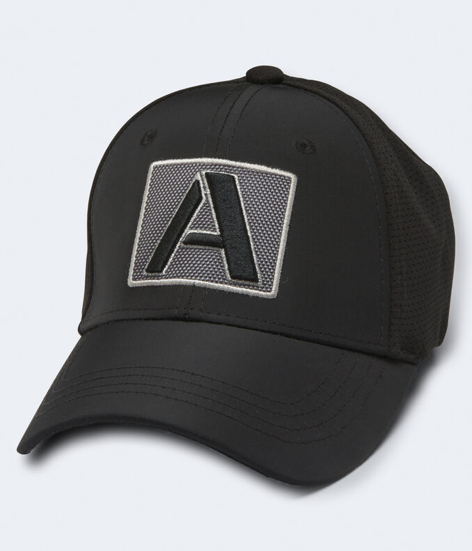"""Square """"A"""" Fitted Hat"""