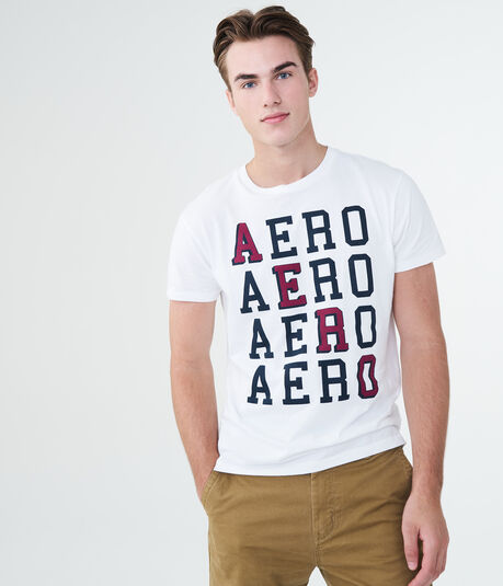Repeating Aero Graphic Tee