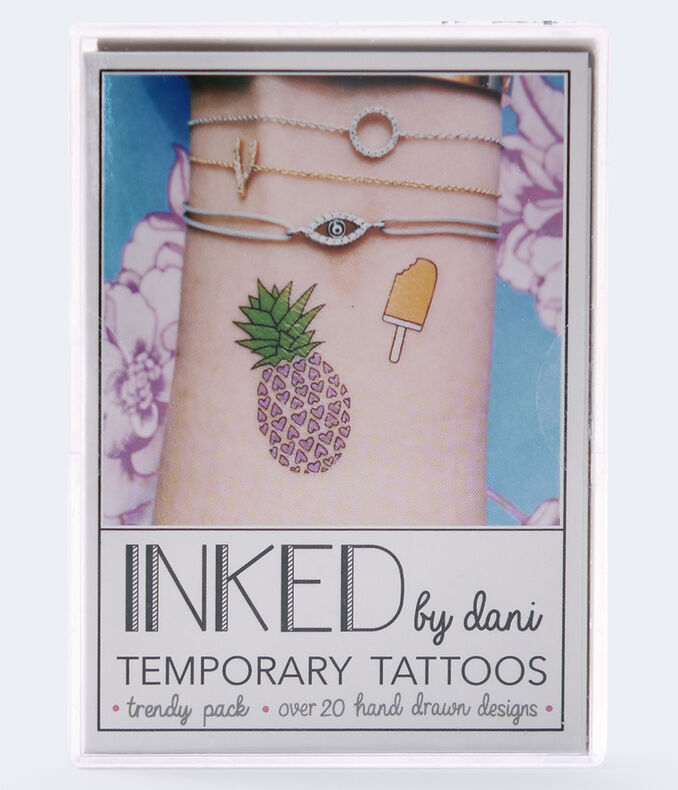 Inked By Dani Trendy Temporary Tattoos