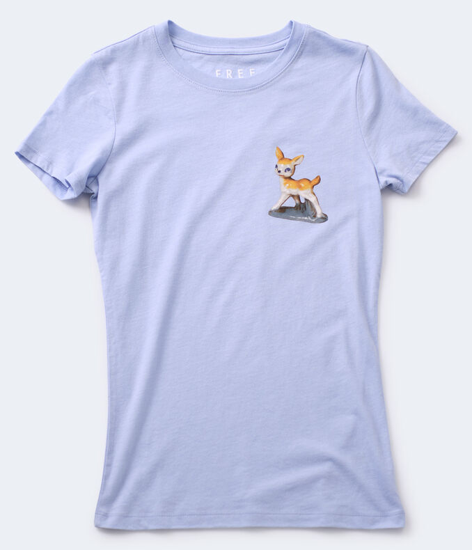 Free State Fawn Graphic Tee