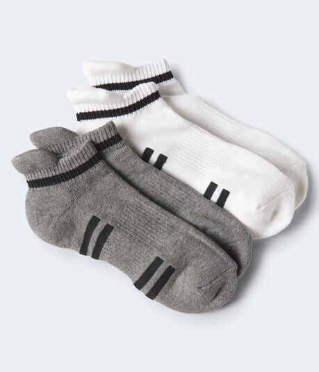 2-Pack Thin Stripe Athletic Socks