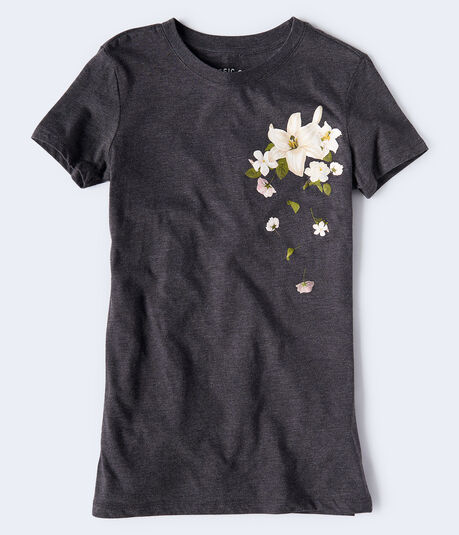 Falling Flowers Graphic Tee