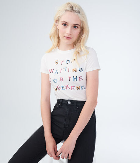 Free State Stop Waiting Graphic Tee