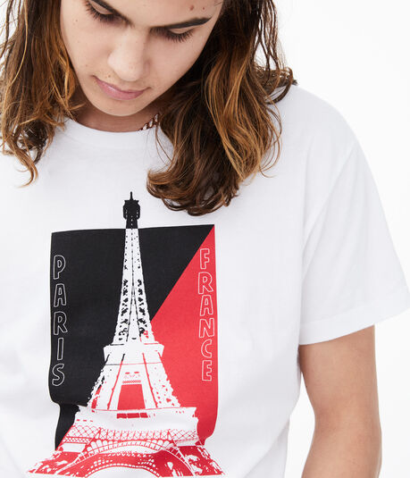 Paris Eiffel Tower Graphic Tee