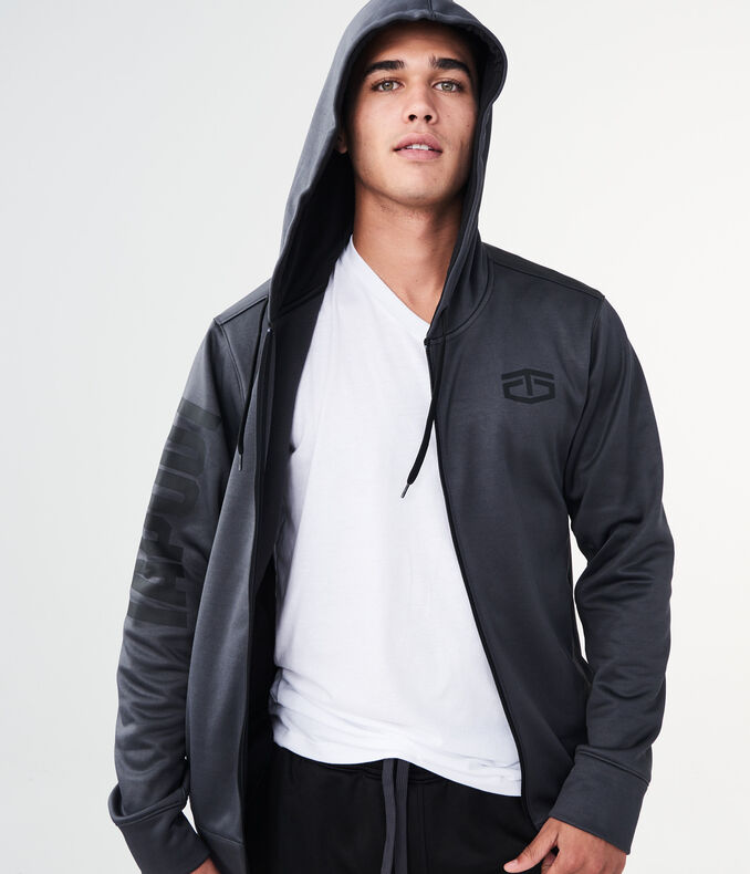 Tapout Little Logo Full-Zip Hoodie