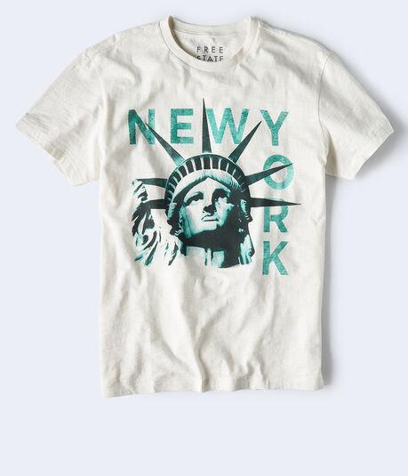 Free State New York Liberty Graphic Tee