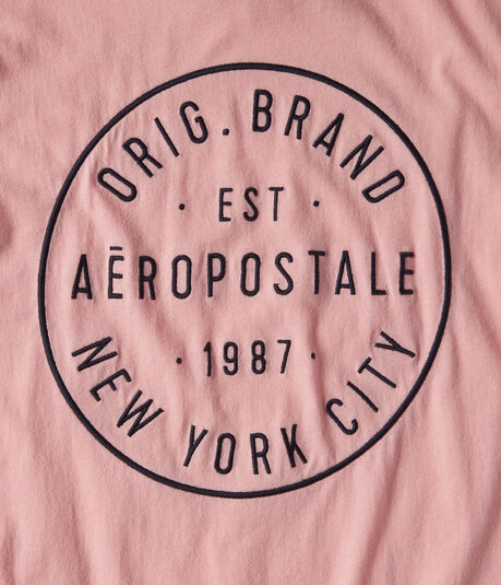 Aero New York City Circle Graphic Tee