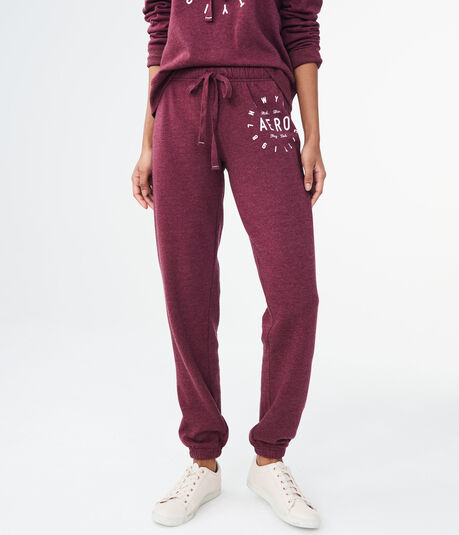 Aero New York City Circle Cinch Sweatpants