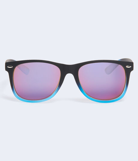 Gradient Mirrored Lens Waymax Sunglasses
