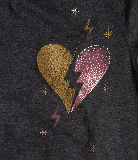 Lightning Heart Graphic Tee