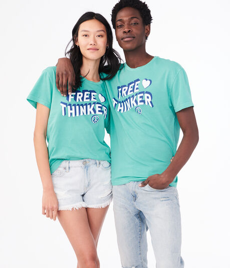 Aero One Free Thinker Graphic Tee