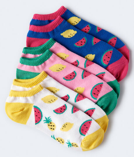 Summer Fruit Ankle Sock 3-Pack***