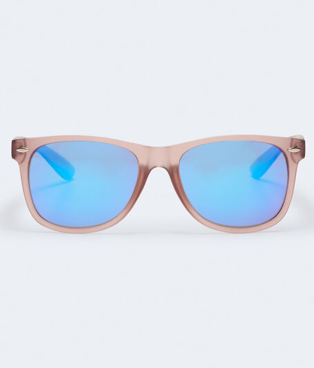 Contrast Mirrored Waymax Sunglasses