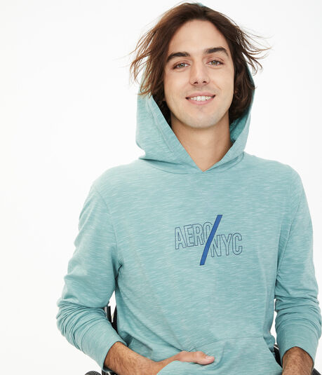 Aero/NYC Stretch Pullover Hoodie
