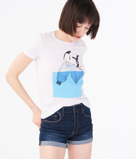 Penguin Iceberg Graphic Tee
