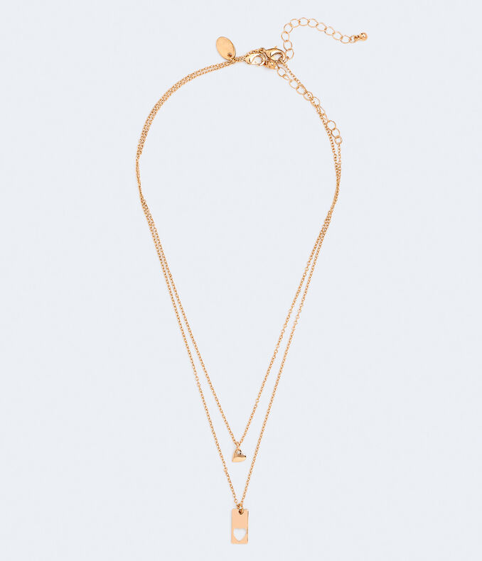 Best Friends Piece Of My Heart Necklace 2-Pack