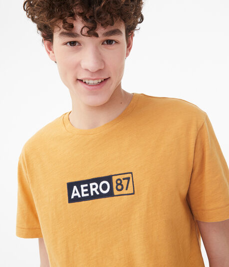 Aero 87 Box Logo Graphic Tee