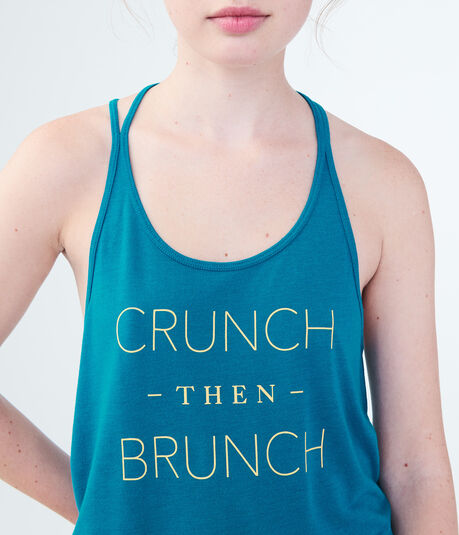 LLD Crunch Then Brunch Graphic Tank