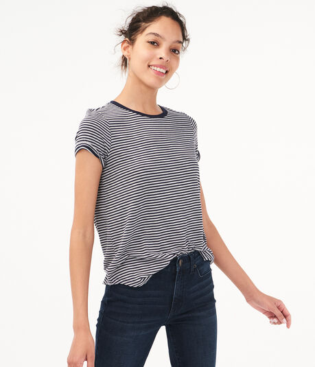 Seriously Soft Striped Tee