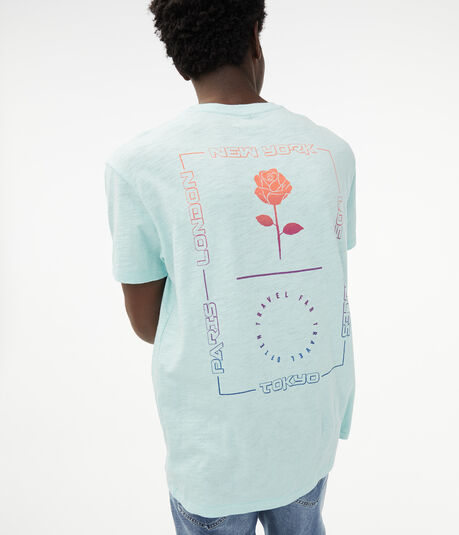 Free State Travel Far Rose Graphic Tee