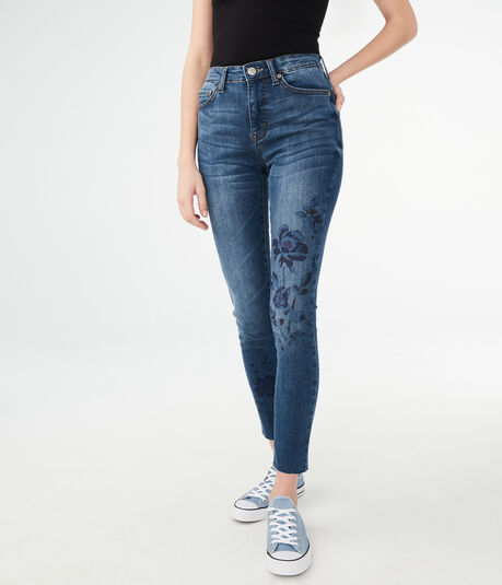 Seriously Stretchy High-Rise Ankle Jegging