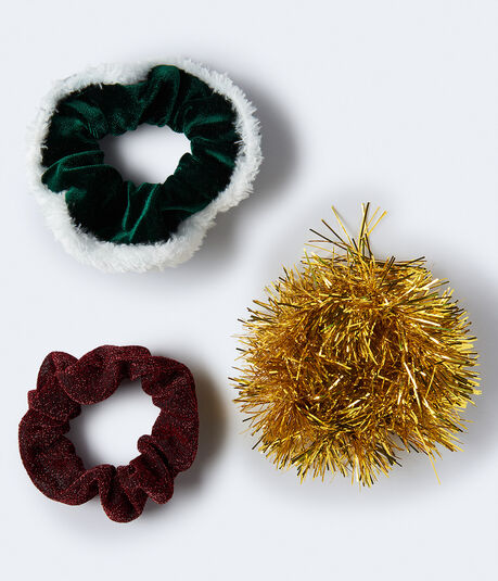 Holiday Scrunchie 3-Pack