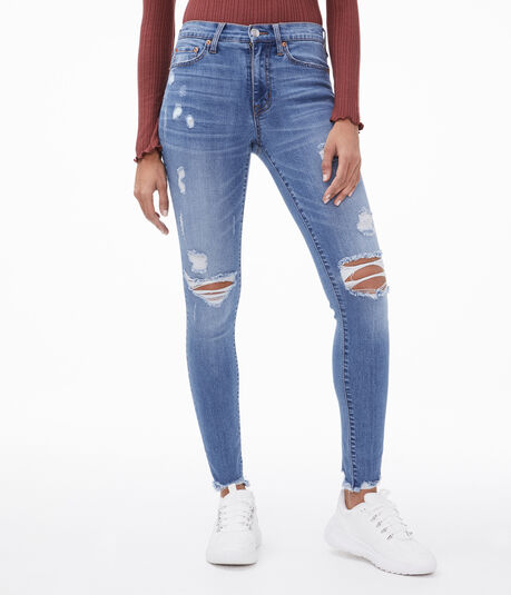 Soft Spun High-Rise Jegging
