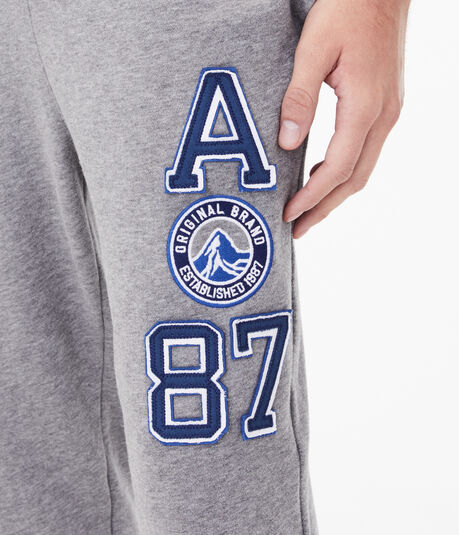 A87 Patch Jogger Sweatpants