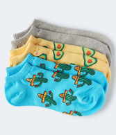 Cactus Ankle Sock 3-Pack