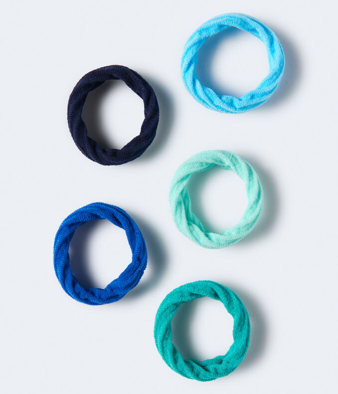 Twisted Ponytail Holder 5-Pack