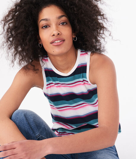 Seriously Soft Striped Tank