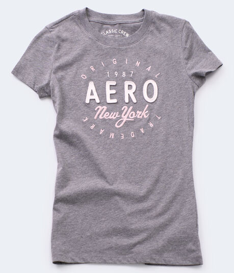Aero New York Circle Graphic Tee