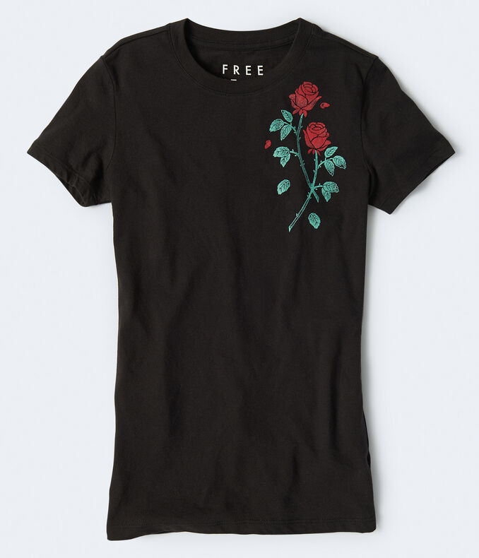 Free State Rose Duo Graphic Tee