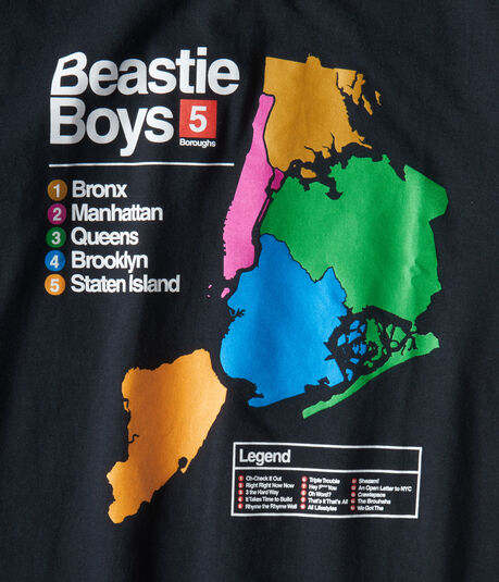 Beastie Boys To The 5 Boroughs Graphic Tee