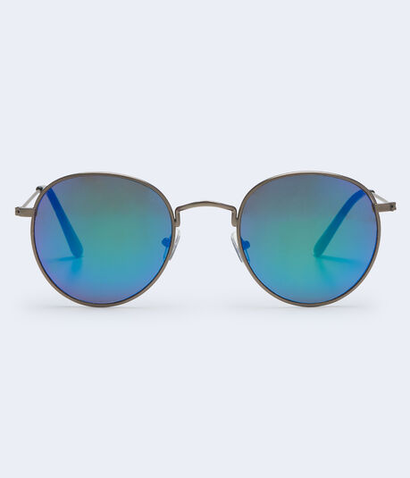 Round Colored Lens Sunglasses***