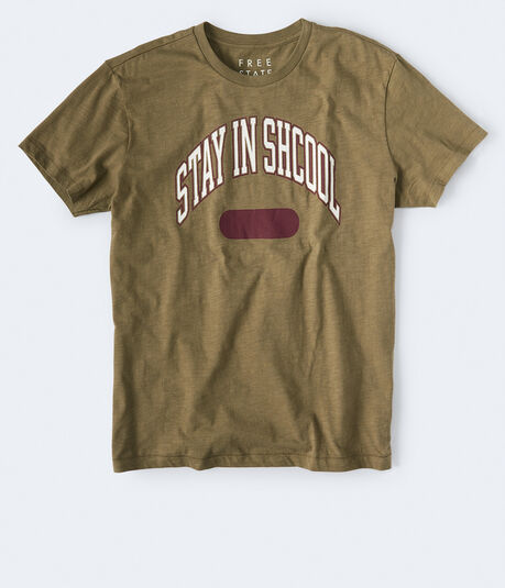 Free State Stay In Shcool Graphic Tee